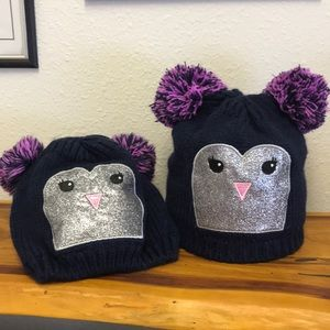 Fleece lined Toddler winter hats